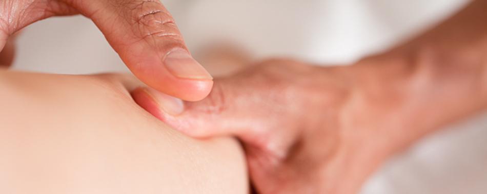 Masseur Paul geeft massage op maat